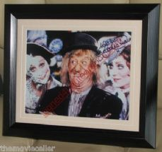 WORZEL GUMMIDGE UNA STUBBS SIGNED LORRAINE CHASE SIGNED  FRAMED CLASSIC COMEDY